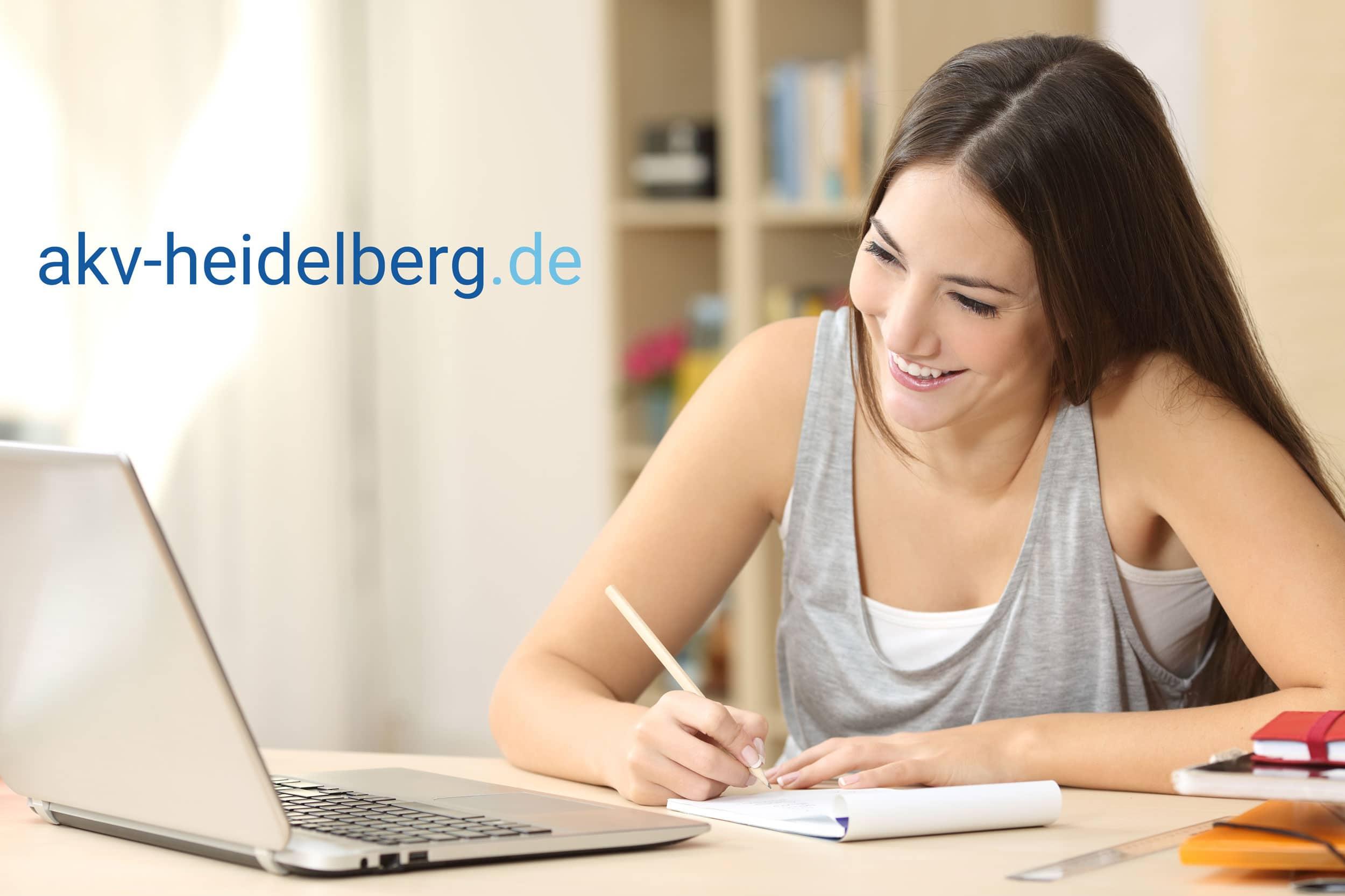 Onlineberatung mit AKV Heidelberg